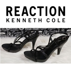 Kenneth Cole Reaction Strappy Heels Sz 8M